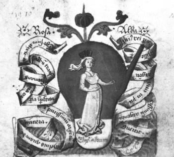 Белая роза алхимии Королева