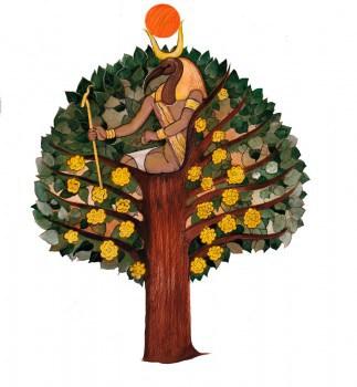 Мировое дерево. Тамариск